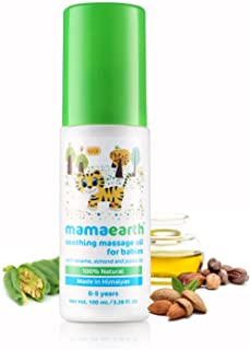Mamaearth Soothing Massage Oil, 100 ml