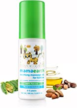Mamaearth Soothing Massage Oil 100% natural oils for babies and kids,100ml