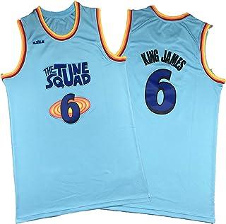 Maglie Bugs Tune Squad #1,Pallacanestro Sportswear Swingman Edition Maglia Maglia Palla Indossare T-shirt Senza Maniche Unisex A Rapida Asciugatura Set Di Pantaloncini