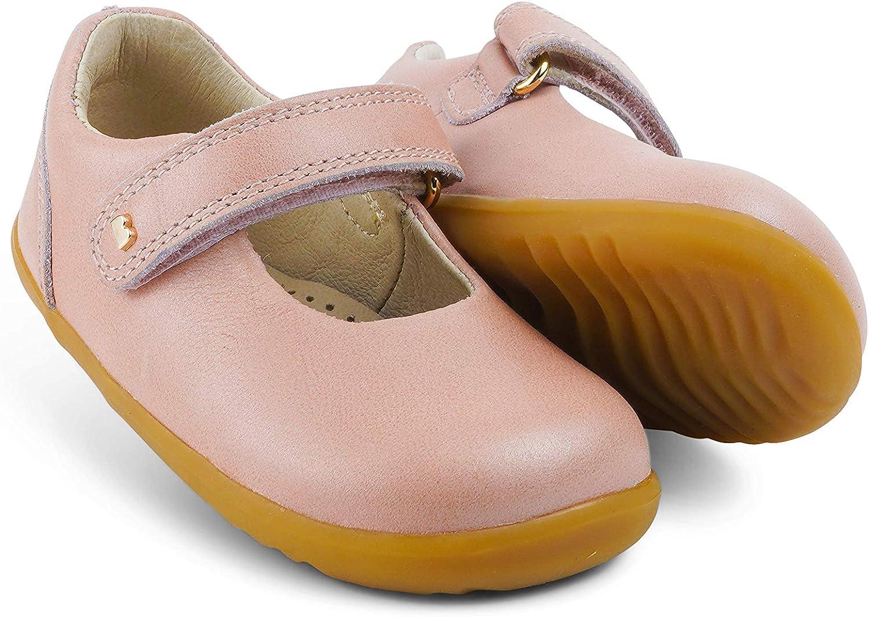Bobux Step Up Delight Mercedita/_Premiers pas Cest une Merceditas en cuir de semelle flexible.