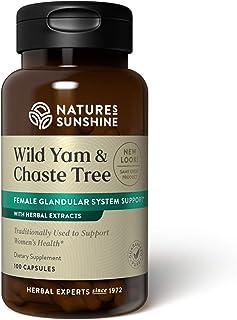 Nature's Sunshine Wild Yam and Chaste Tree 100 Capsules