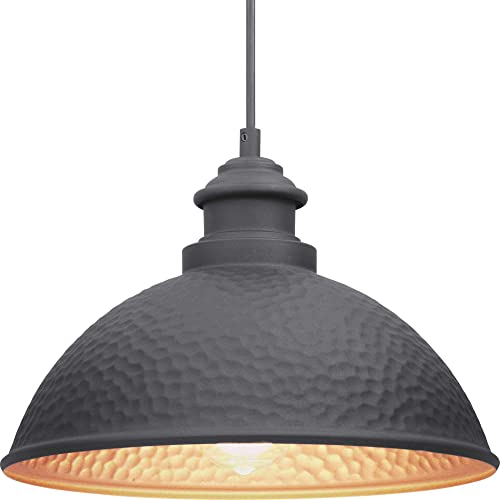 new arrival Englewood online Collection 1-Light Farmhouse Outdoor Hanging new arrival Lantern Light Textured Black online sale