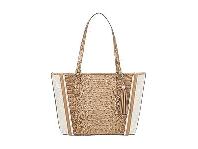 Brahmin Medium Asher Enchant Tote (Shortbread) Handbags