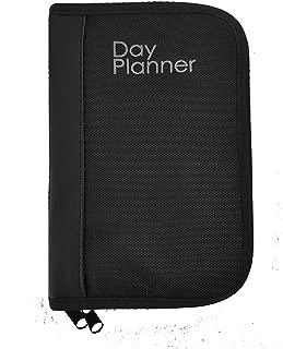 Garrison Grip Nylon Canvas w/Faux Leather Binder Day Planner Gun Case for Carrying SM/LG Gun