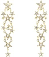 Kate Spade New York - Seeing Stars Star Statement Earrings