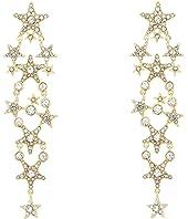 Kate Spade New York - Seeing Stars Star Statement Earrings