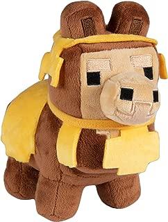 JINX Minecraft Happy Explorer Baby Llama Plush Stuffed Toy, Brown, 6.5