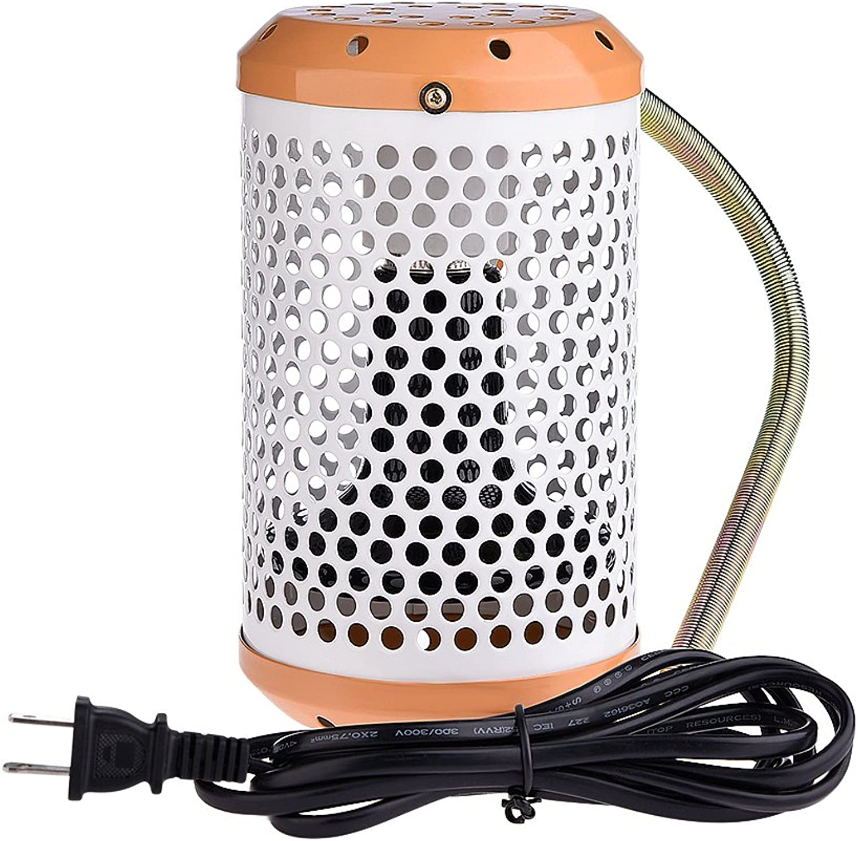 Pet Reptiles Infrared Heating Lamp UV Ceramic Heat Preservation Lights Winter Warming Supplies(100W US Plug)