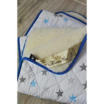 Natural Merino Wool Baby Duvet Children Duvet Cot Bed Blanket Bed Pram 75//100cm