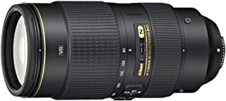 Nikon Nikkor AF-S 80-400mm F/4.5-5.6G ED VR Lens, Black