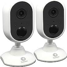 Swann 1080p Alert Indoor Security Camera 2 Piece Set