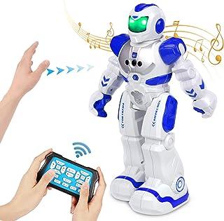 FORMIZON Robot de Control Remoto, Gestos Control Robots, Robots Recargable Multifuncionales Robots Programable Cantando y ...