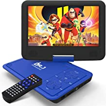 "DR. J 11.5"" Portable DVD Player with HD 9.5"" Swivel Screen, Rechargeable.."