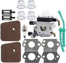 Kizut FS55R FS45 Carburetor for Stihl FS55 HS45 FS85 FS46 FS80 HS80 KM55R HS85 FS38 String Trimmer Parts C1Q-S186 C1Q-S97 Carb Air Filter Kit