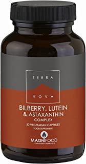 Terranova Synergistic Nutrition Sinergia Per Gli Occhi - Mirtillo, Luteina E Astaxantina Complex - 50 g