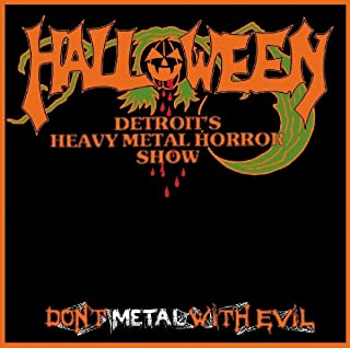 halloween don t metal with evil