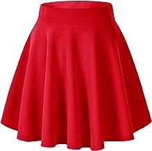 red pin skirt