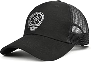 Cotton Trucker Cap Yamaha-Motorcycle- Snapback Classic Mesh Hats