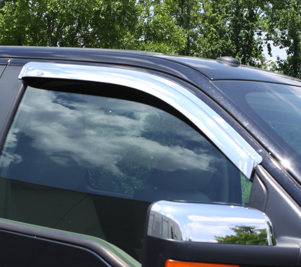 AVS 2-Piece Outside-Mount Ventvisor for Ford F-150 2004-2008 Standard Cab