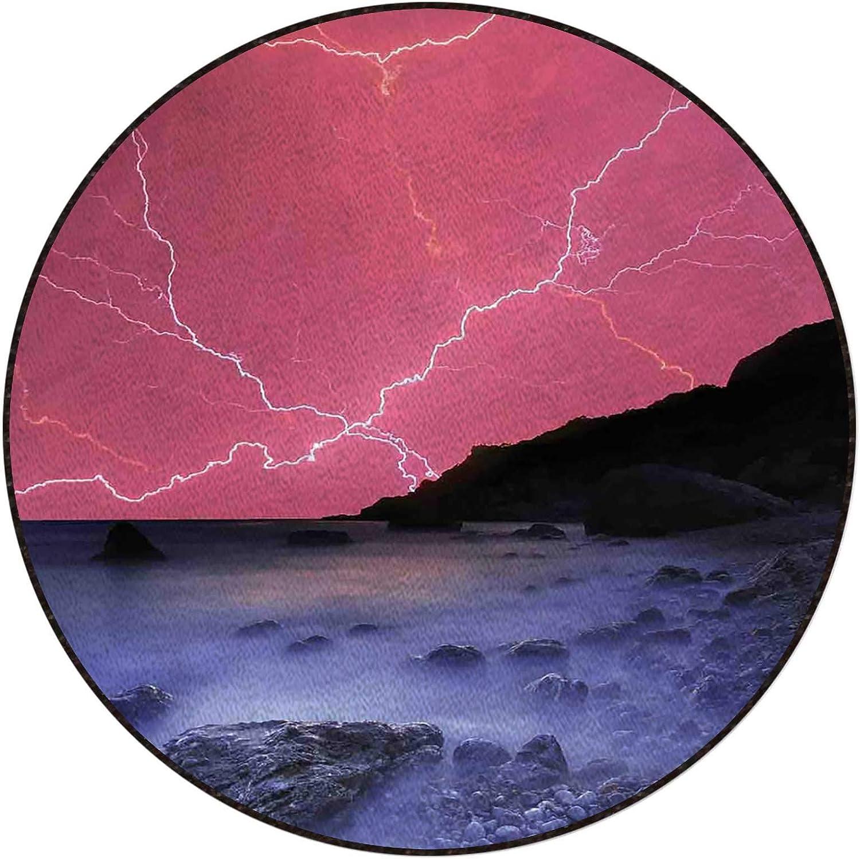 Thunderstorm Phenomena Office Swivel Chair Natural quality assurance No Overseas parallel import regular item Mat Rubber