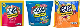 Jolly Ranchers Hard Candy Bulk Variety Large Bag Pack, with Jolly Rancher Awesome Reds, Fruity Bash, and Bulk Hard Candy Assortment. Easy One-Stop Shopping for an Awesome Candy Experience.