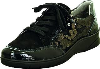 ARA Womens L.Low Shoes Black/Titanium/Iron Wide H Size 9.0 EU