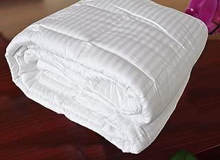 Natural Comfort Hotel Select 250TC Down Alternative White Oversize Comforter, Duvet Cover Insert, King