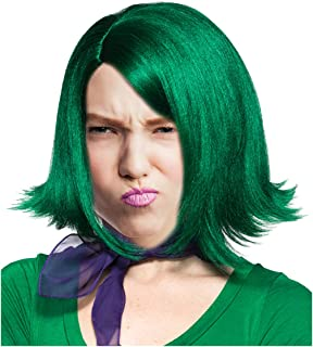 Green Character Flip Wig for Adults and Kids