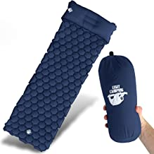 Legit Camping Sleeping Pad Camping Mat The Most Comfortable Sleeping Mat and Pillow - Rolls Up Tight - Air Support Cells Transform Your Camping Mattress and Camping Pillow - Best Outdoor Sleep Ev