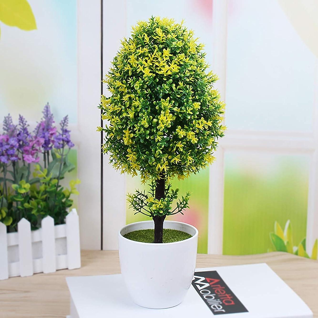 側溝ハドルファントムPusaman シミュレーション木、平和の木、gruuml; NEフェイク鉢植え、盆栽創造卓上の装飾、ホームデコレーションギフト、C (Color : E)