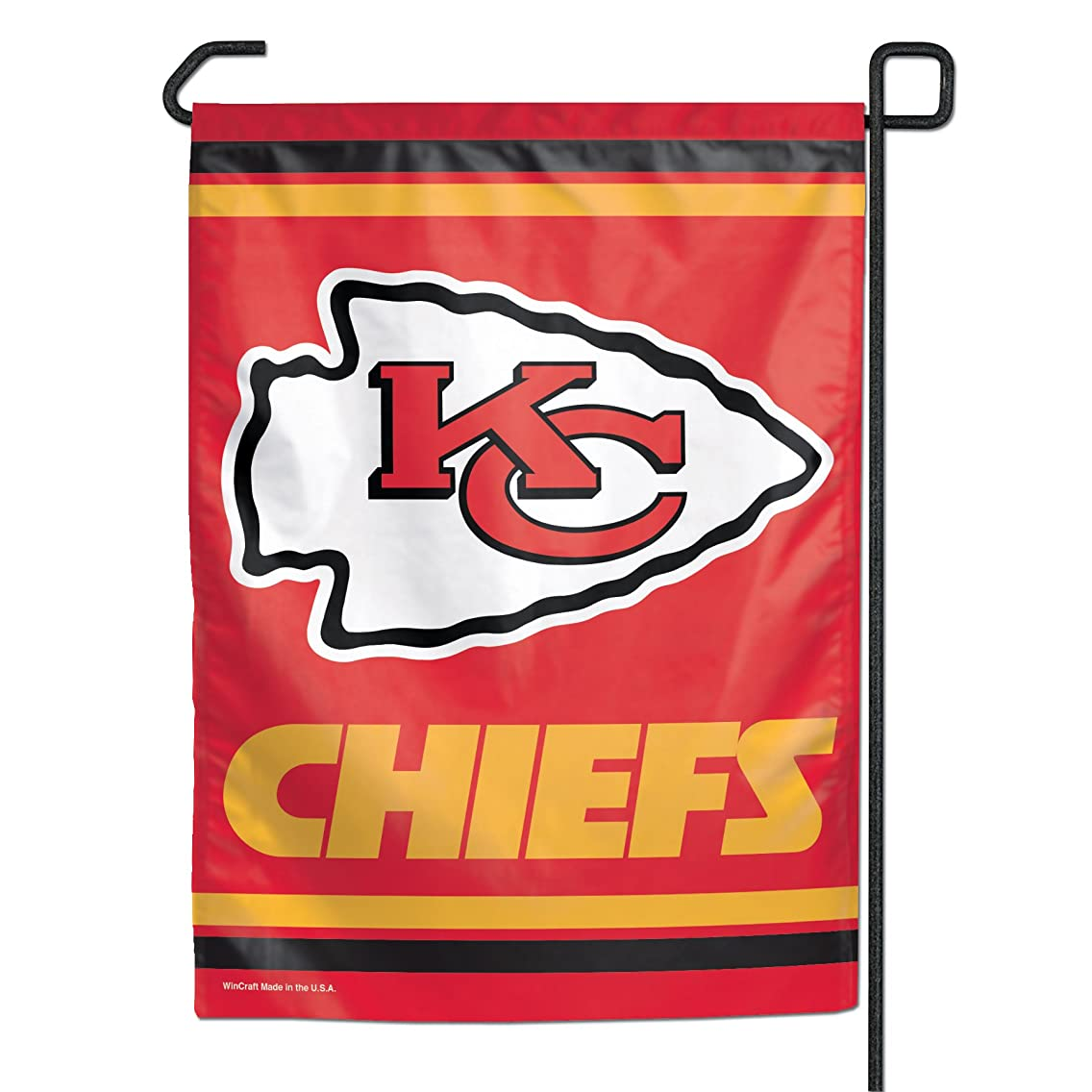WinCraft NFL Kansas City Chiefs Garden Flag