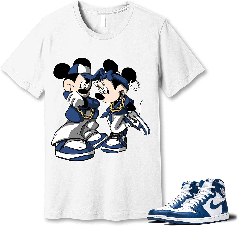 #Mickey #Minnie online shopping White T-Shirt outlet to Match Blue Storm KO 1 Jordan