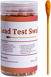 Lead Paint Test Kit, Professional Lead Testing Kit For Home, Instant Lead Test Kit With 40 Pcs Test Swabs For All Painted Surfaces, Ceramics, Dishes, Metal, Wood, Get Precise Result Within 30 Seconds