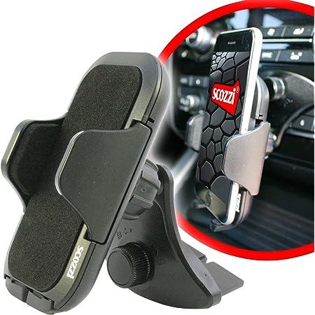 Scozzi Handyhalterung Auto Cd Schlitz Einschub Fach Elektronik
