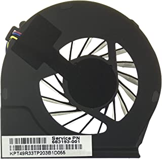 HP Ventilador 683193-001 Compatible Compaq G G6-2000 | G6-2021SP | G6-2244EP | G7-2000 y Part Number 055417R1S | 680551-001 | FAR3300EPA
