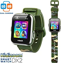 VTech KidiZoom Smartwatch DX2 Camouflage (Amazon Exclusive), Great Gift For Kids,..