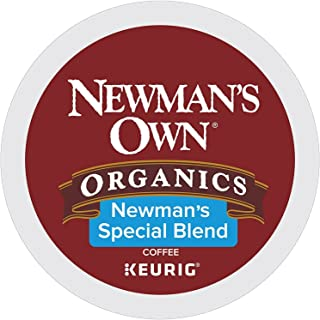 Newman's Own Organics K-cup Portion Pack for Keurig K-cup Brewers, Newman's Own Special Blend 80 count