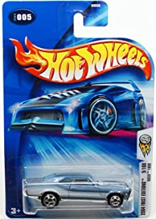 Hot Wheels 2004 First Editions #5 Nova 1968 Super Sport Tampo #2004-5 Collectible Collector Car Mattel 1:64 Scale Collecti...