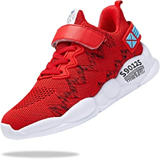 Kids Shoes for Boys Girls Breathable Knit Athletic...