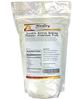 Double Active Baking Powder Aluminum Free 2.5 lbs