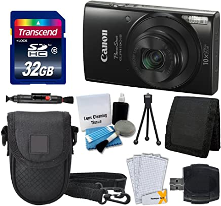 Canon PowerShot ELPH 190 is Digital Camera (Black) +...