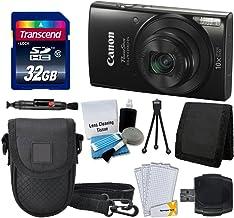Canon PowerShot ELPH 190 is Digital Camera (Black) +...