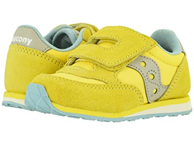 Saucony Kids Originals Jazz Hook Loop (Toddler/Little Kid) (Yellow) Kid