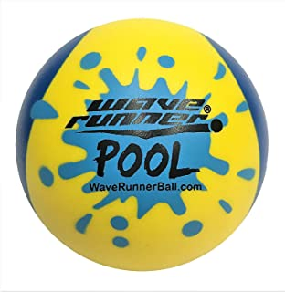 Wave Runner Pool Ball #1 Water Ball for Skipping and Bouncing The Perfect Pool Ball and Beach Ball (Random Color)