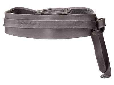 ADA Collection Obi Classic Wrap Belt (Onyx (Texas Leather)) Women