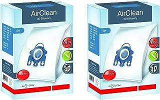 Miele Tipo de G/N Airclean filterbags, 2 Boxes, Blanco