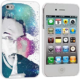 Quiet Galaxies - Markiplier Case Cover Your iPhone 4/4S Case and iPhone 4 Case ( White Hard Plastic )
