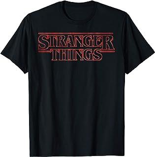 Netflix Stranger Things Neon Logo T-Shirt