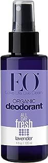 EO Organic Deodorant Spray, French Lavender, 4 oz