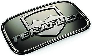 TeraFlex 4798000 Black Chrome JK License Plate Delete Badge Kit